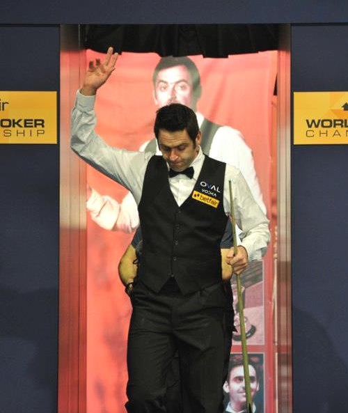 World Snooker Championship - O&#039;Sullivan rockets to lead Carter