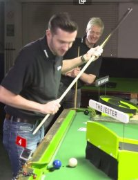 Crazy Snooker Challenge with Neil Robertson & Mark Selby!
