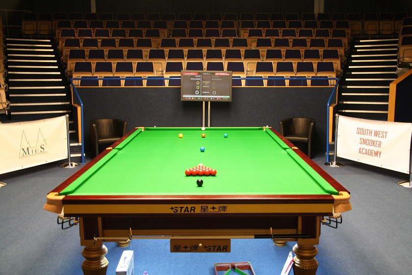 South West Snooker Academy Arena PTC2 2011