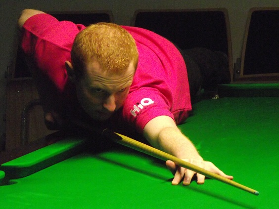 Anthony McGill Snooker Pink PTC7 2011