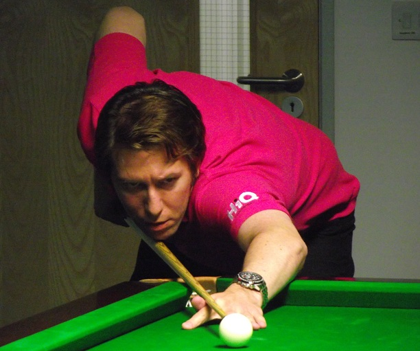 Dominic Dale Snooker Pink PTC7 2011