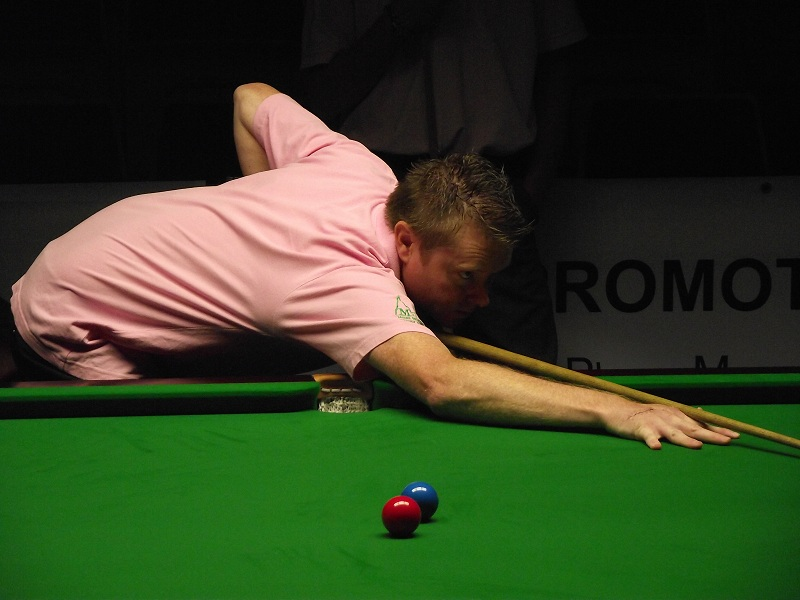 Gerard Greene Pink Ribbon 2011 Snooker