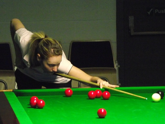 Reanne Evans Pink Ribbon 2011 Snooker