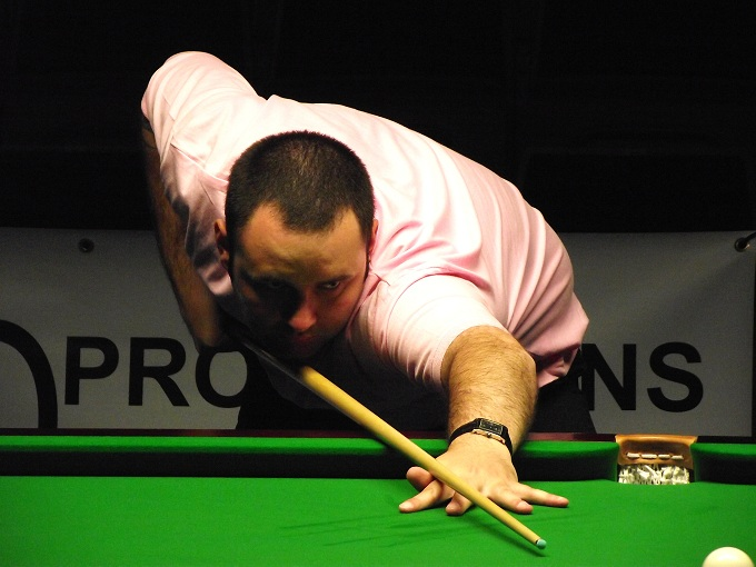 Stephen Maguire Pink Ribbon 2011 Snooker
