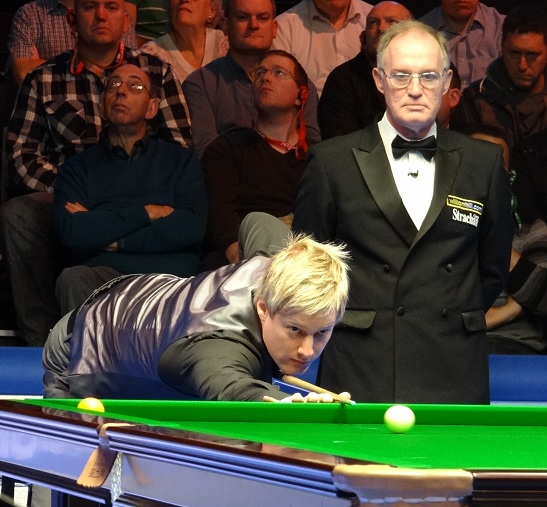 Neil Robertson Leo Scullion Snooker UK Championship 2011