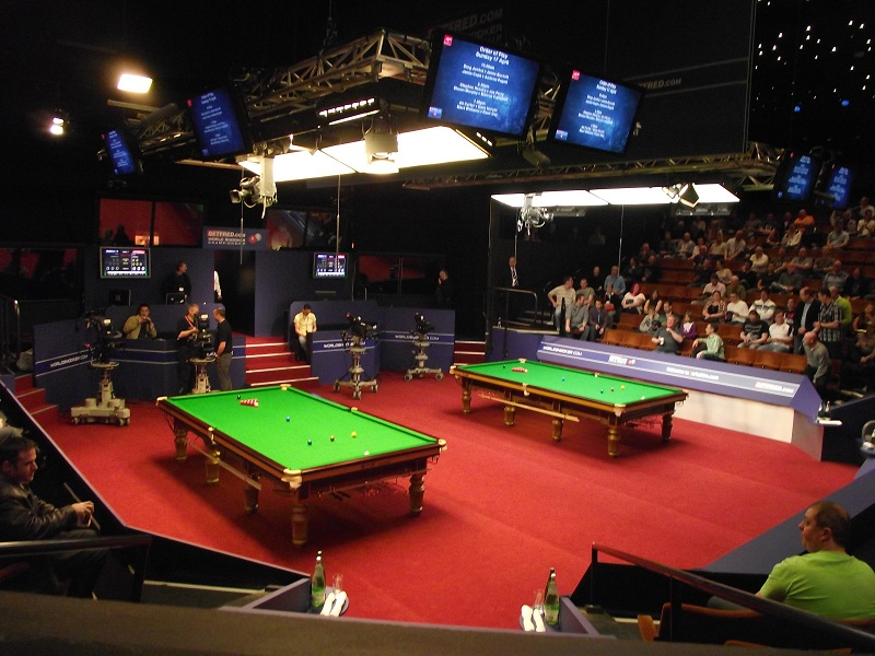 Crucible Theatre Snooker Arena