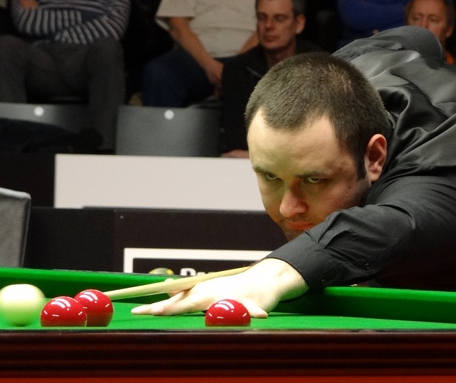 Stephen Maguire Snooker German Masters 2012