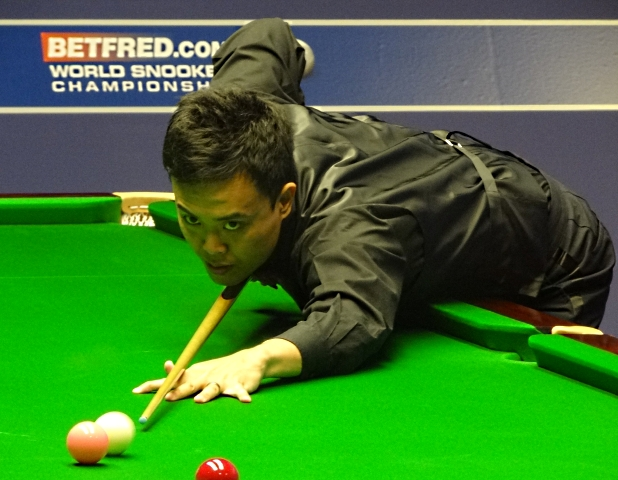 Marco Fu Snooker World Championship 2012