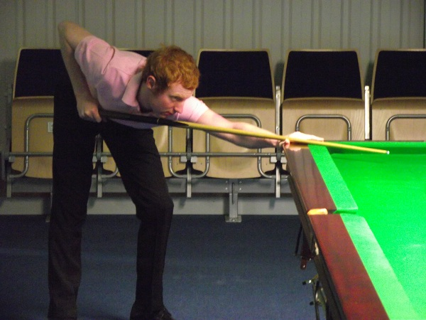 Anthony McGill Pink Ribbon 2011 Snooker