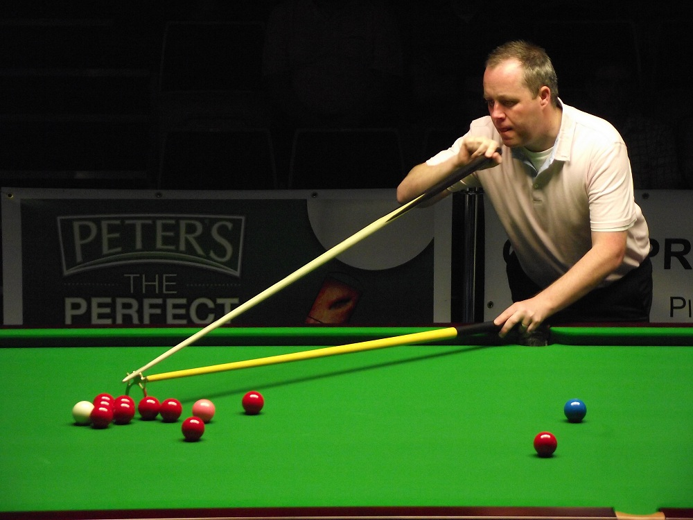 John Higgins Pink Ribbon Snooker 2011