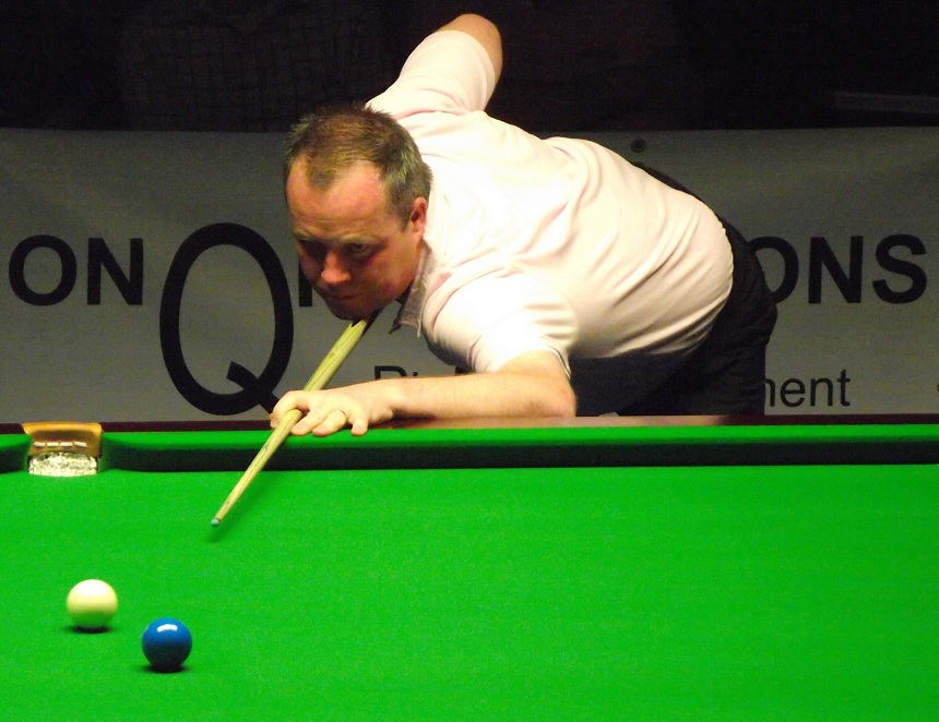 John Higgins Snooker Pink Ribbon 2011