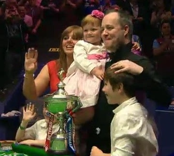 John Higgins Snooker World Champion 2011