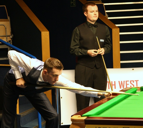Mark Selby & Chris Norbury Snooker PTC2 2011