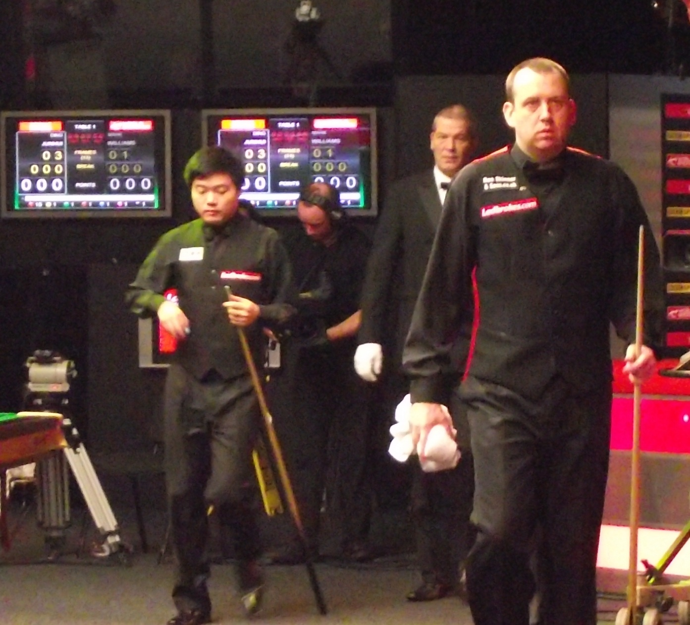 Mark Williams Ding Junhui Masters 2011