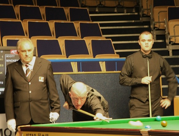Steve Davis & Scott Mackenzie PTC2 South West Snooker Academy